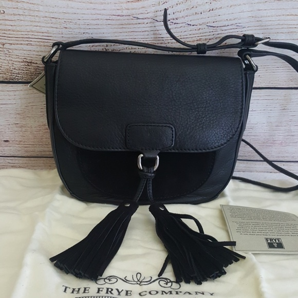 Frye Handbags - New Frye Clara Saddle Bag